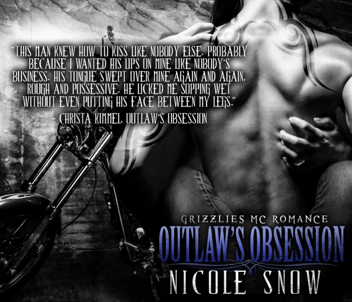 Christa - KISS - Outlaw's Obsession by Nicole Snow